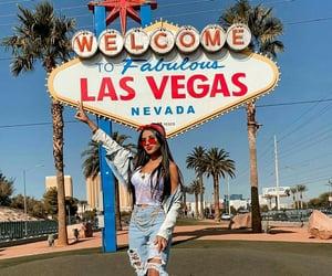 Las Vegas, usa, and woman image