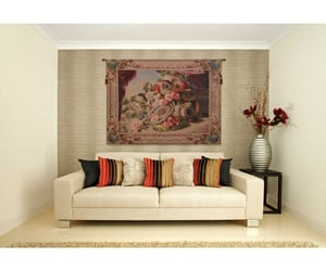 tapestry, french tapestry, and wall art image