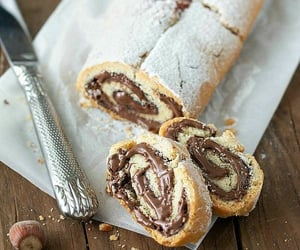 dessert, nutella, and sweet image