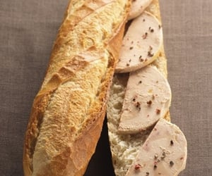 aesthetic, baguette, and food image