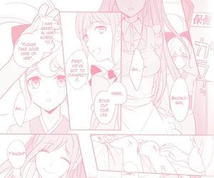 anime, pink manga, and danganronpa image