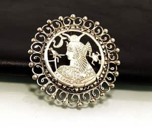 etsy, filigree brooch, and egyptian revival image