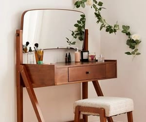 dressing table, home, and makeup image