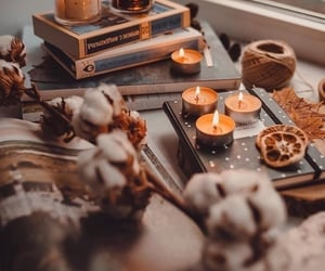 autumn, fall, and and candle image image