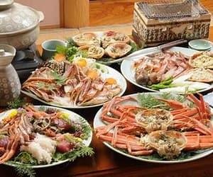 crab, food, and japan image