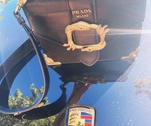 bag, car, and gold image