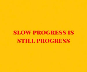 progress, quotes, and words image