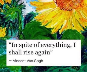quotes, sunflower, and art image