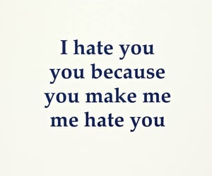 hate you and i hate you image
