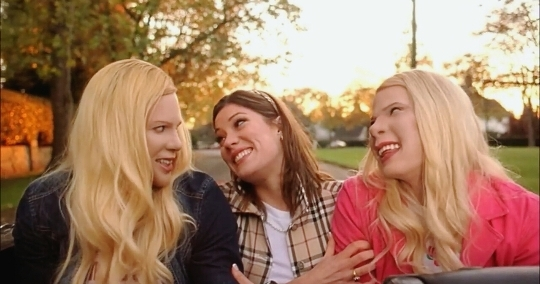 funny, mood, and white chicks image