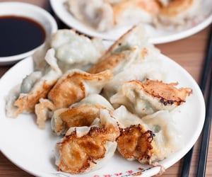 chinese food, dumpling, and asian food image