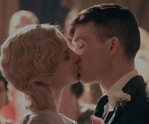 cillian murphy, annabelle wallis, and tommy shelby image