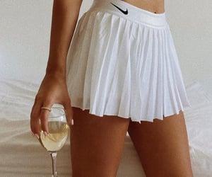 fashion, nike, and skirt image