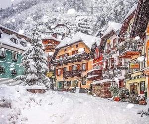 austria, snow, and winter image