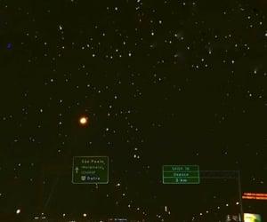 wallpaper, night, and stars image