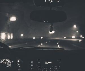 car, night, and light image