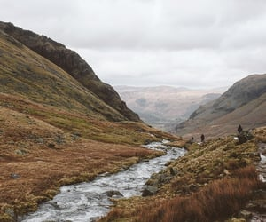 mountains, river, and travel image