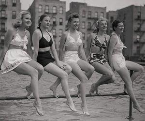 bathing suit, beach, and bikini image