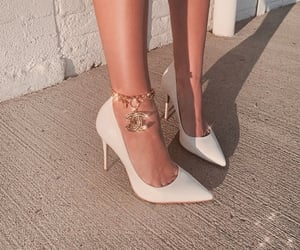 chanel, heels, and classy image