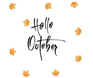 autoral, hello, and october image