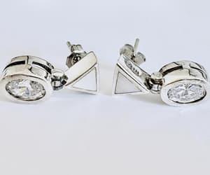 etsy, vintage earrings, and elegant earrings image