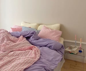 aesthetic, pastel, and bedroom image