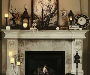 candles, chic, and clock image