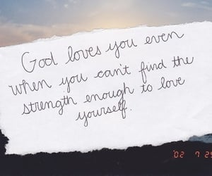 god, quotes, and love image