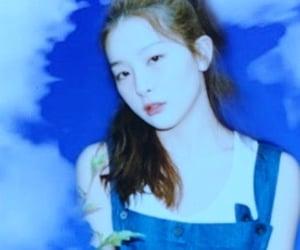 asian, blue, and joy image