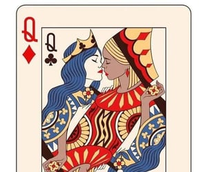 cards, girlfriends, and lesbian image