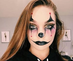 clown and Halloween image