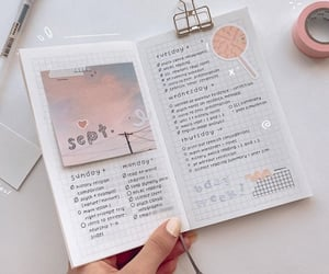 inspiration, journal, and planning image