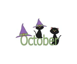 hello, outubro, and october image