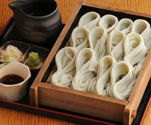 soba, japanesefood, and food image