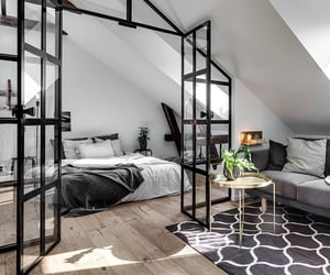 bedroom, fashion, and home design image