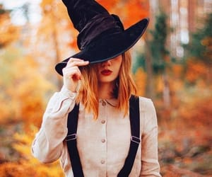 autumn, Halloween, and witch image