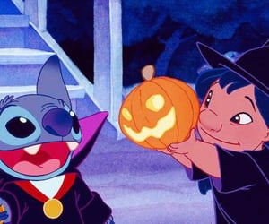 lilo, october, and ️️hallowen image
