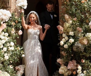 bride, Couture, and weddingdress image