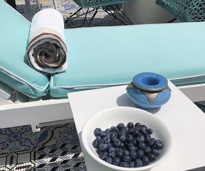 blueberries, fashion, and holiday image
