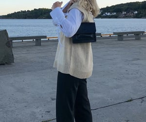 everyday look, puff sleeve, and white blouse image