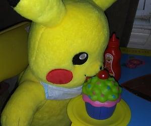 pikachu, pretend food, and pokemon image