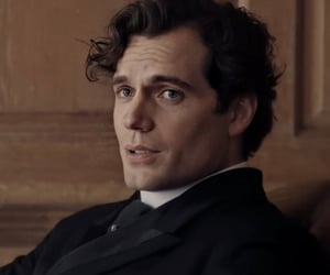 brother, eyes, and Henry Cavill image