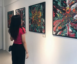 art, colourful, and gallery image