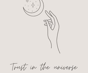 moon, spiritual, and trust image