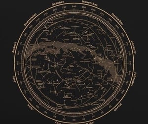 maps, sky, and space image