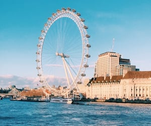 iphone, london, and london eye image