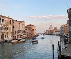 italy, venice, and view image