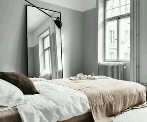 bedroom, home decor, and Houses image