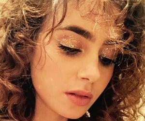 actress, jewelry, and makeup image