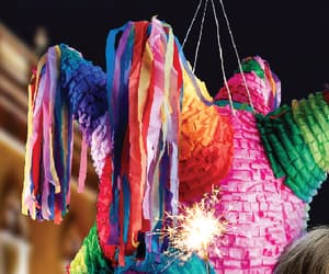 christmas, color, and fiesta image